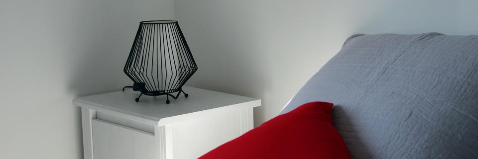 Chambre 2 - Gîte du Manoir - Gîte de France 3 épis