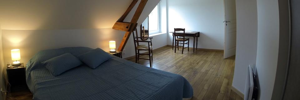 Chambre 4 - Gîte du Manoir - Gîte de France 3 épis