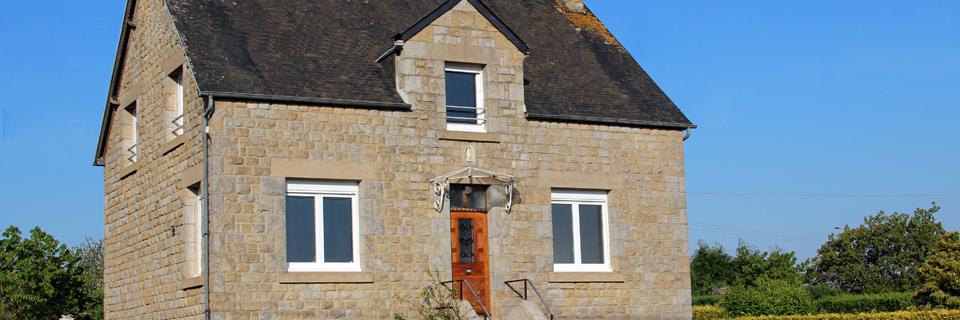 Façade - Gîte du Manoir - Gîte de France 3 épis