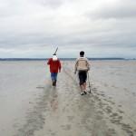 Pêche aux palourdes